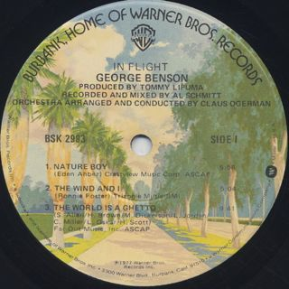 George Benson / In Flight label