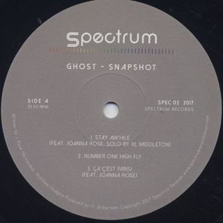 Ghost / Snapshot E.P. label