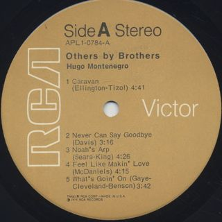 Hugo Montenegro / Others By Brothers label