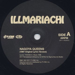 Illmariachi / Nagoya Queens c/w Younggunz back