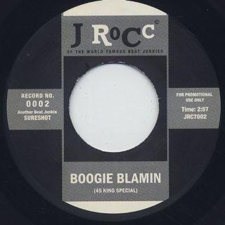 J Rocc / Funky President Edits Vol. 2 - Boogie Blamin back