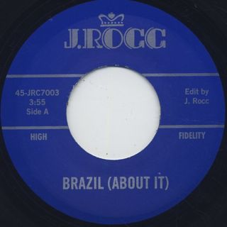 J Rocc / Funky President Edits Vol. 3 - Brazil (About It) back