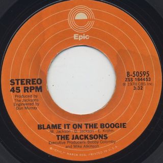 Jacksons / Blame It On The Boogie ②