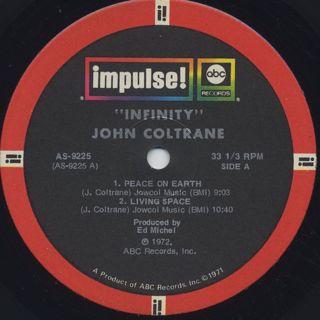 John Coltrane / Infinity label