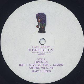 Lalah Hathaway / Honestly label
