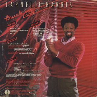 Larnelle Harris / Touch Me Lord back