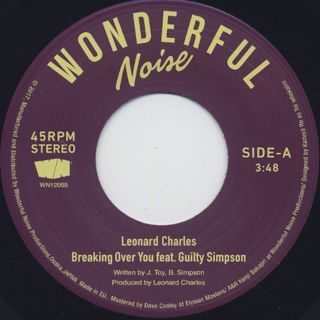 Leonard Charles / Breaking Over You