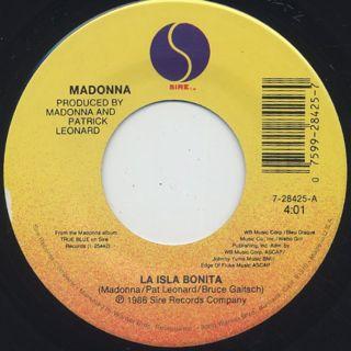 Madonna / La Isla Bonita (7