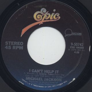 Michael Jackson / I Can't Help It (7
