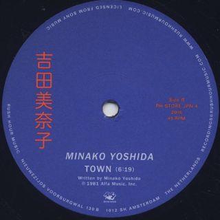 Minako Yoshida / Midnight Driver c/w Town label