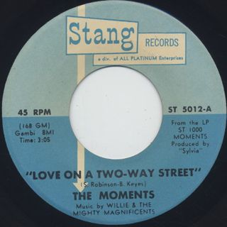 Moments / Love On A Two-Way Street (7