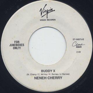 Neneh Cherry / Trout c/w Buddy X ① back