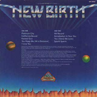 New Birth / Platinum City back