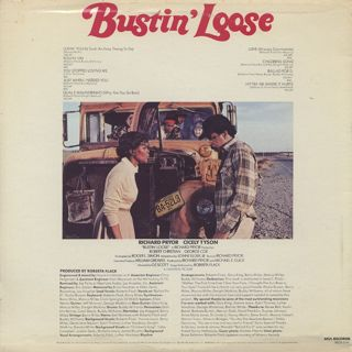 O.S.T.(Roberta Flack) / Bustin' Loose back