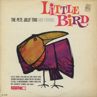 Pete Jolly Trio And Friends / Little Bird front