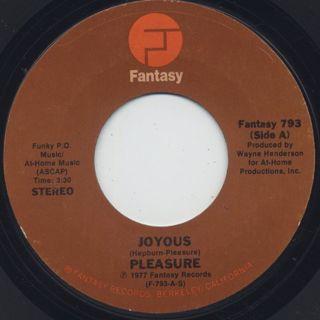 Pleasure / Joyous (7