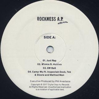 Rock / Rockness A.P. label