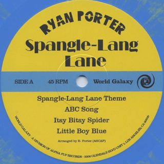 Ryan Porter / Spangle-Lang Lane label