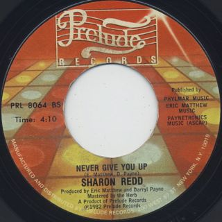 Sharon Redd / In The Name Of Love c/w Never Give You Up