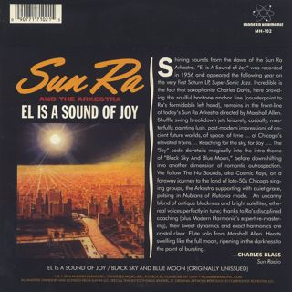 Sun Ra And His Arkestra / El Is A Sound Of Joy back