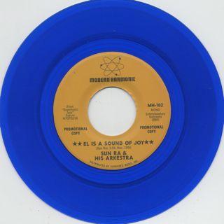 Sun Ra And His Arkestra / El Is A Sound Of Joy label
