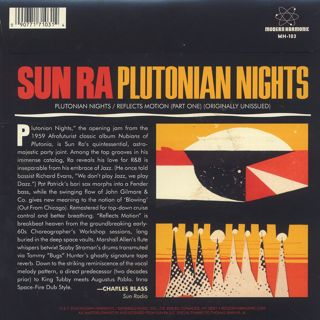 Sun Ra / Plutonian Nights back