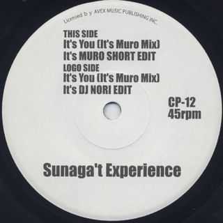 Sunaga T Experience / It's You (7