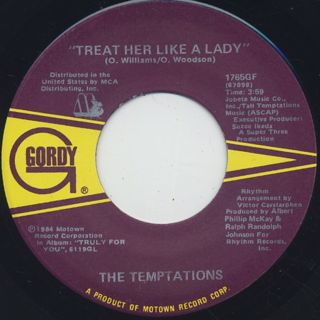 Temptations / Treat Her Like A Lady ②