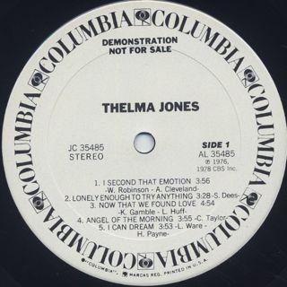 Thelma Jones / S.T. label