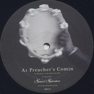 Theo Parrish / Preacher's Comin label