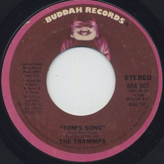 Trammps / Hold Back The Night c/w Tom's Song