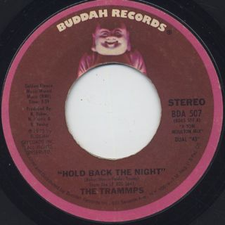 Trammps / Hold Back The Night c/w Tom's Song back
