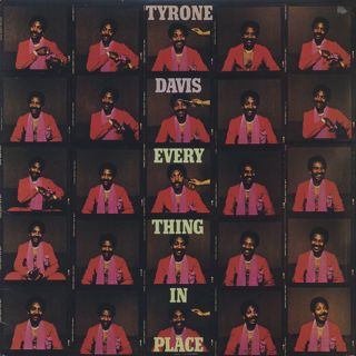 Tyron Davis / Everything In Place front