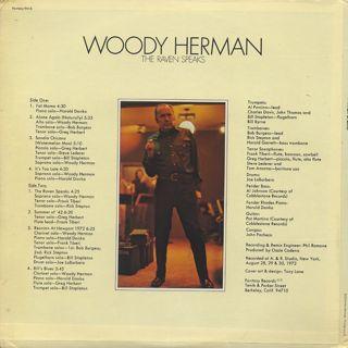 Woody Herman / The Raven Speaks back