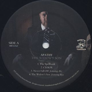 Apathy / The Widow's Son label