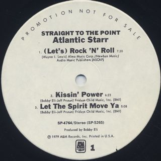 Atlantic Starr / Straight To The Point label