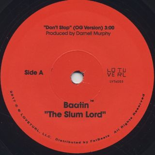 Baatin / Don't Stop