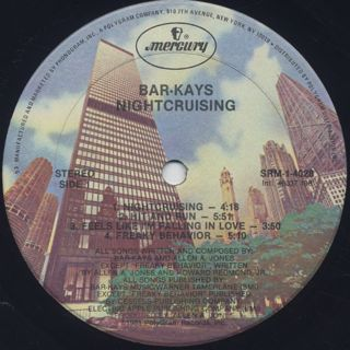 Bar-Kays / Nightcruising label