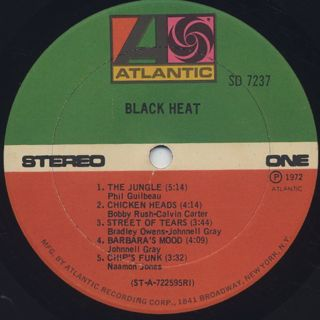 Black Heat / S.T. label
