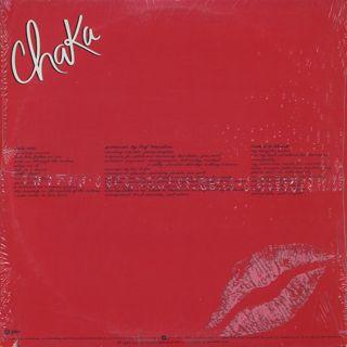 Chaka Khan / Chaka back