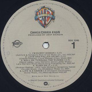 Chaka Khan / Chaka label