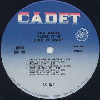 Dells / Like It Is label