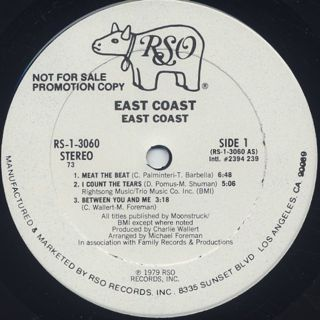 East Coast / S.T. label