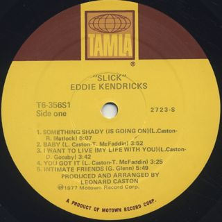 Eddie Kendricks / Slick label