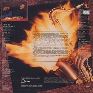 Ernie Watts / Chariots Of Fire back