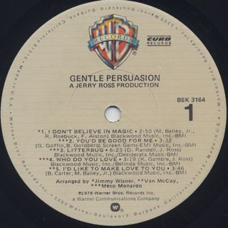 Gentle Persuasion / Gentle Persuasion label