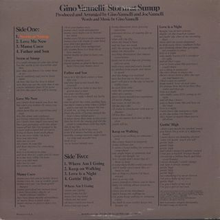 Gino Vannelli / Storm At Sunup back