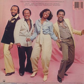 Gladys Knight And The Pips / About Love back