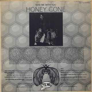 Honey Cone / Take Me With You back