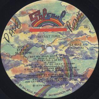 Instant Funk / S.T. label